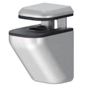棚グリップH形 M クローム 1箱20個価格 ※メーカー取寄品 シロクマ TG-7