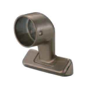 シロクマ スリムブラケット真壁用止 32mm径 アンバー 1箱10個価格 ※メーカー取寄品 BR-663