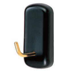 シロクマ ピアノフック M ピュアブラック 1箱60個価格 ※メーカー取寄品 C-30T