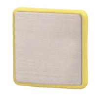 シロクマ R形マグネット補助板 Tタイプ LL マスタード 1箱40個価格 ※メーカー取寄品 C-480T