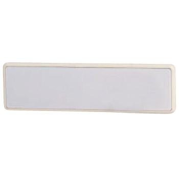 R形マグネット補助板 Tタイプ MW マスタード(1箱・30個価格)※メーカー取寄品 シロクマ C-481T