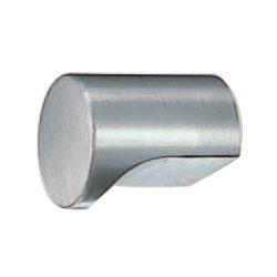 ステン円筒ツマミ 15mm径 ヘアーライン 1箱50個価格 ※メーカー取寄品 シロクマ ST-10