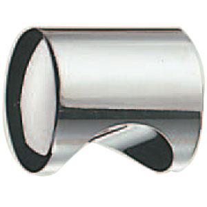 シロクマ ステン甲丸円筒ツマミ 18mm径 鏡面 1箱30個価格 ※メーカー取寄品 ST-15