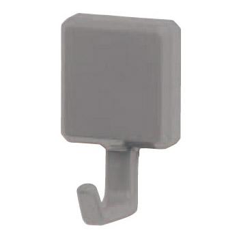 eフックA形 XS グレー 1箱60個価格 ※メーカー取寄品 シロクマ C-2M