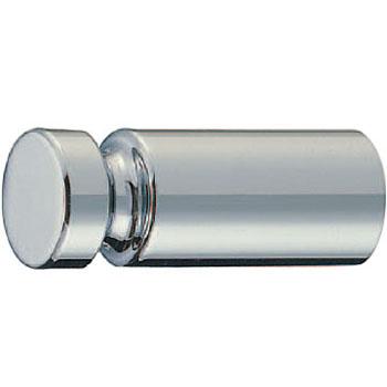 真鍮 溝入丸棒フック クローム 1箱10個価格 ※メーカー取寄品 シロクマ CB-17