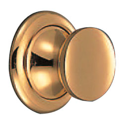 プレーンツマミ ラッチ付(33~38mm用)純金 1箱20組価格 ※メーカー取寄品 シロクマ PKB-1