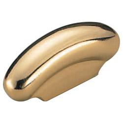 真鍮 室町ハンドル 金 1箱20本価格 ※メーカー取寄品 シロクマ HB-68