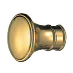 真鍮 アッサムツマミ 24mm 金 1箱20個価格 ※メーカー取寄品 シロクマ KB-95