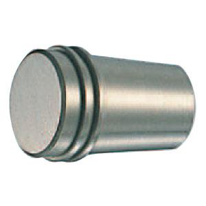 真鍮 ピルツツマミ 16mm ホワイト 1箱30個価格 ※メーカー取寄品 シロクマ KB-97