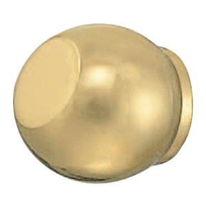 真鍮 レザンツマミ 24mm 金 1箱30個価格 ※メーカー取寄品 シロクマ KB-103