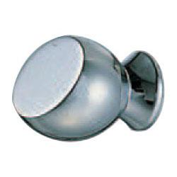 シロクマ 真鍮 エルマーツマミ 21mm クローム 1箱30個価格 ※メーカー取寄品 KB-104