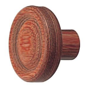 ウッド ボタンツマミ 大 ウッド 1箱20個価格 ※メーカー取寄品 シロクマ KW-3