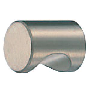 真鍮ニューカットツマミ 20mm径 ホワイト 1箱30個価格 ※メーカー取寄品 シロクマ KB-2
