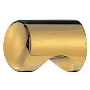 真鍮 キャノンツマミ 18mm径 純金 1箱30個価格 ※メーカー取寄品 シロクマ KB-3