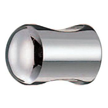 真鍮ニューキャノンツマミ 20mm クローム 1箱30個価格 ※メーカー取寄品 シロクマ KB-4