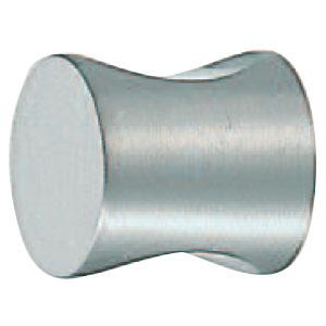 シロクマ 真鍮 ダブルカットツマミ 18mm ホワイト 1箱30個価格 ※メーカー取寄品 KB-5
