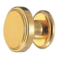 シロクマ 真鍮 ハニーツマミ 大 純金 1箱10個価格 ※メーカー取寄品 KB-12