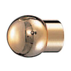シロクマ 真鍮 モナリザツマミ 小 純金 1箱30個価格 ※メーカー取寄品 KB-13