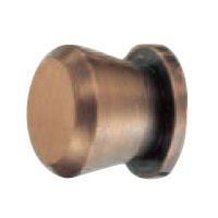 真鍮 円垂ツマミ 小 GBジャーマンブロンズ 1箱50個価格 ※メーカー取寄品 シロクマ KB-24