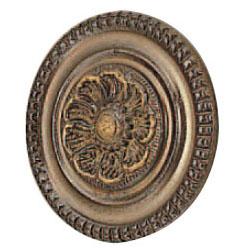 真鍮 藤ツマミ 中 古代色 1箱30個価格 ※メーカー取寄品 シロクマ KB-28