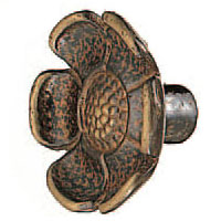 真鍮 コスモスツマミ 仙徳 1箱30個価格 ※メーカー取寄品 シロクマ KB-30