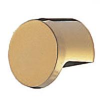 真鍮 クラークツマミ 小 純金 1箱20個価格 ※メーカー取寄品 シロクマ KB-36