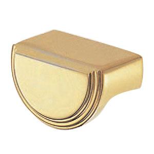 真鍮 グロリアツマミ 大 純金 1箱10個価格 ※メーカー取寄品 シロクマ KB-40