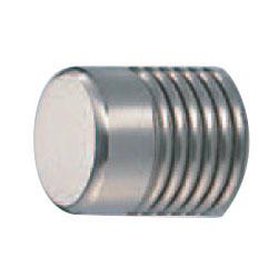 真鍮 ナポリツマミ 25mm径 ホワイト 1箱20個価格 ※メーカー取寄品 シロクマ KB-42