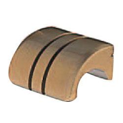 真鍮 ラリーツマミ 小 仙徳 1箱30個価格 ※メーカー取寄品 シロクマ KB-47
