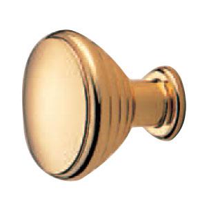 真鍮 パルケツマミ 30mm 純金 1箱20個価格 ※メーカー取寄品 シロクマ KB-60