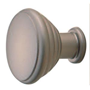 真鍮 パルケツマミ 25mm パールニッケル 1箱30個価格 ※メーカー取寄品 シロクマ KB-60