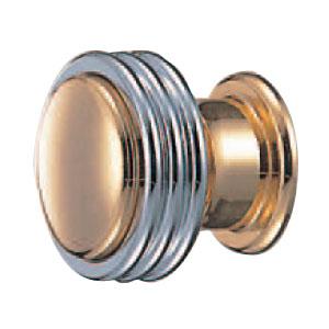 真鍮 イーグルツマミ 純金クローム 1箱20個価格 ※メーカー取寄品 シロクマ KB-64
