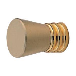 真鍮 シプレツマミ サテンゴールド純金 1箱30個価格 ※メーカー取寄品 シロクマ KB-75