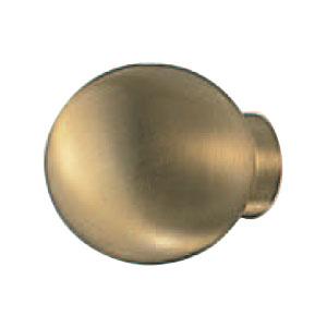 真鍮 ボールツマミ 28mm サテンゴールド 1箱20個価格 ※メーカー取寄品 シロクマ KB-85