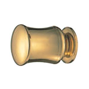 真鍮 プレシャスツマミ 18mm 純金 1箱30個価格 ※メーカー取寄品 シロクマ KB-91