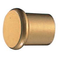 オレゴンツマミ 25mm径 ゴールド 1箱30個価格 ※メーカー取寄品 シロクマ KZ-10