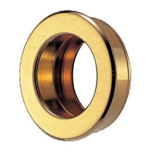 真鍮 ソリッド丸手掛 45mm径 純金 1箱10個価格 ※メーカー取寄品 シロクマ MB-7