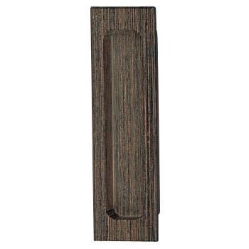 ウッド平面長戸引手 90mm 自然木生地 1箱20個価格 ※メーカー取寄品 シロクマ MW-1