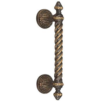 真鍮 アラビアン取手 大 古代色 1本価格 ※メーカー取寄品 シロクマ NO-28