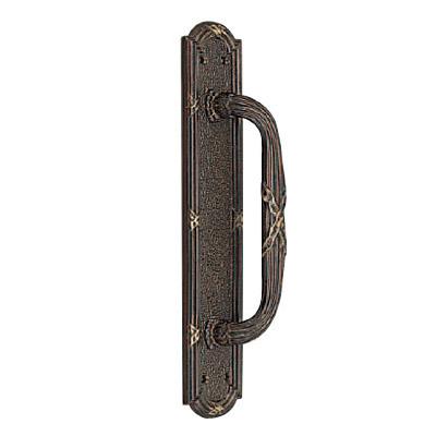 真鍮 スパニッシュ座付取手 古代色 1本価格 ※メーカー取寄品 シロクマ NO-11
