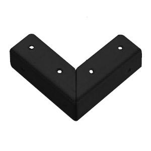 角金具 大 黒 1箱600枚価格 ※メーカー取寄品 シロクマ LA-8