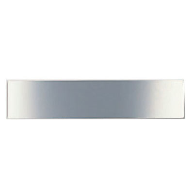 シロクマ サイン 無地 ステンレス鏡面仕上 1箱5枚価格 ※メーカー取寄品 NS-1-19