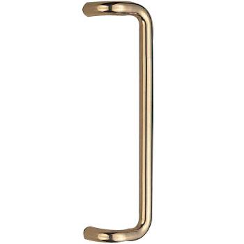 シロクマ 真鍮 L形丸棒取手 大 ミガキ 1組価格 ※メーカー取寄品 NO-250