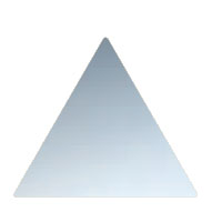三角 100 鏡面磨 1箱10枚価格 ※メーカー取寄品 シロクマ NS-106