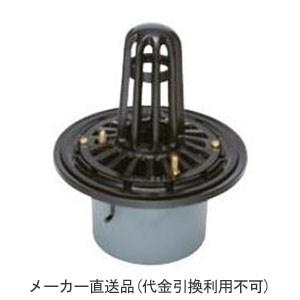 カネソウ 鋳鉄製ルーフドレイン たて引き用 打込型 屋上用(呼称150) メーカー直送代引不可 ESP-1-150