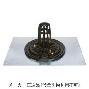 カネソウ 鋳鉄製ルーフドレイン たて引き用 鋼製下地断熱屋根工法用 屋上用(呼称200) ※メーカー直送代引不可 ESP-6-200