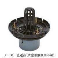 カネソウ 鋳鉄製ルーフドレイン たて引き用 打込型 外断熱用 屋上用(呼称150) ※メーカー直送代引不可 ESPW-1-150