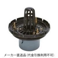 鋳鉄製ルーフドレイン たて引き用 打込型 外断熱用 屋上用(呼称125) ※メーカー直送代引不可 カネソウ ESPW-2-125