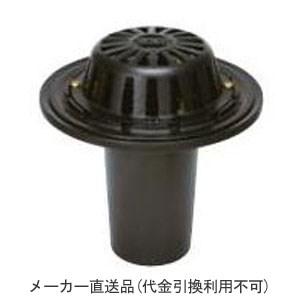 カネソウ 鋳鉄製ルーフドレイン たて引き用 一般型 バルコニー 庇・屋上用(呼称150) ※メーカー直送代引不可 ESR-3-150