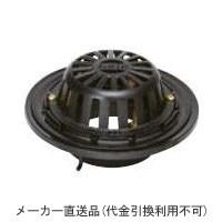 カネソウ 鋳鉄製ルーフドレイン たて引き用 一般型 バルコニー 庇・屋上用(呼称150) ※メーカー直送代引不可 ESR-4-150